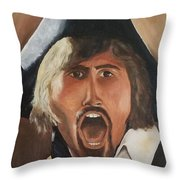 The Rebel Throw Pillow