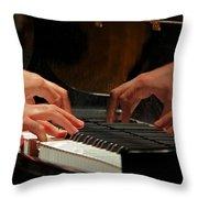 The Recital Throw Pillow