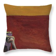 The Reckoning Throw Pillow