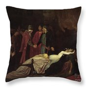 The Reconciliation Of The Montagues Throw Pillow
