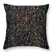 The Rectangle IIi Throw Pillow