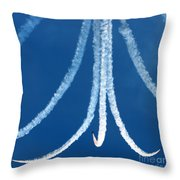 The Red Arrows Display Team Throw Pillow
