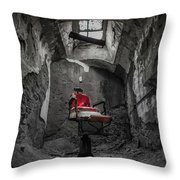 The Red Chair Throw Pillow