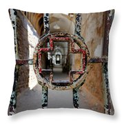 The Red Cross Throw Pillow