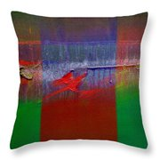 The Red Dragon Tatoo Throw Pillow