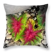 The Red Sisters Throw Pillow