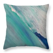 The Reef Off Guam Throw Pillow