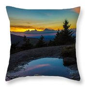 The Reflective Pool Throw Pillow
