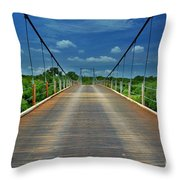 The Regency Bridge 3 Throw Pillow