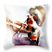 The Rehearsal Throw Pillow by Linda Lindall