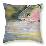 The Release Throw Pillow