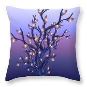 The Resolutions Tree At Dawn Throw Pillow