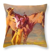 The Respite Throw Pillow