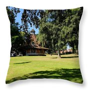 The Rest House Bournville Throw Pillow