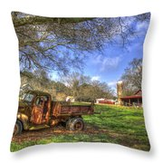 The Resting Place Shadows Throw Pillow