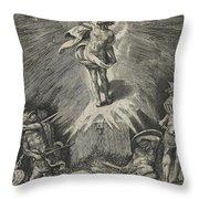 The Resurrection Throw Pillow