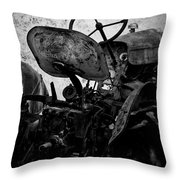 The Retired Seat Throw Pillow