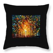 The Return Of The Sun Throw Pillow