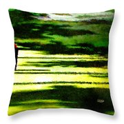 The Return Of The Tiger 05 Throw Pillow