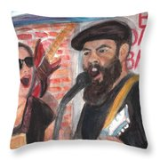 The Reverend Throw Pillow