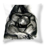 The Revolutionary Act Throw Pillow by Gabrielle Wilson-Sealy