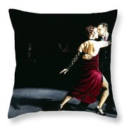 The Rhythm Of Tango Throw Pillow