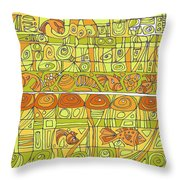 The Rhythm Of Things Throw Pillow