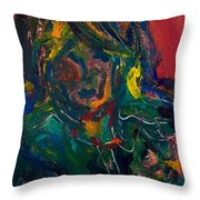 The Richness Of The Soul Throw Pillow