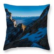 The Ridge Throw Pillow
