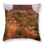 The Right Hand Throw Pillow