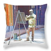 The Right Light 1 Throw Pillow