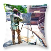 The Right Light 3 Throw Pillow