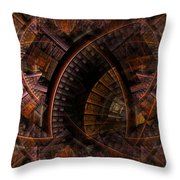 The Right Of Sanctuary Throw Pillow
