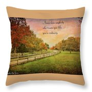 The Right Words To Live By Throw Pillow