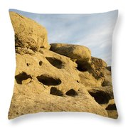 The Rims At Sunset Throw Pillow