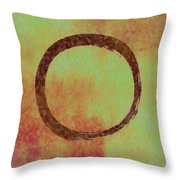 The Ring Throw Pillow