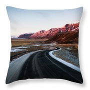 The Ring Road Throw Pillow
