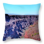 The Rio Grande Gorge Throw Pillow