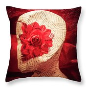 The Rise And Fall Throw Pillow