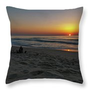 The Rise  Throw Pillow