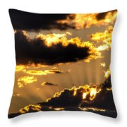The Rising Of The Setting Sun Throw Pillow