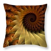 The Rising Sun Throw Pillow