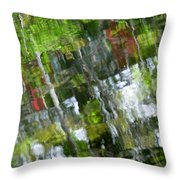 The River 3 Throw Pillow