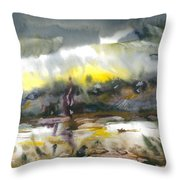 The River Nistru IIi Throw Pillow