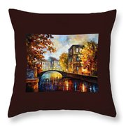 The River Of Memories Throw Pillow