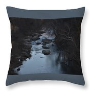 The Rivers Keep Secrets Throw Pillow