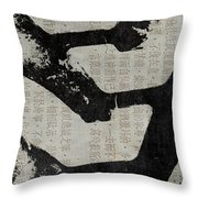The Road Less Traveled II Throw Pillow