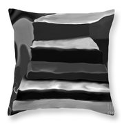 The Road To Despair Throw Pillow