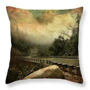 The Road To Everywhere Throw Pillow