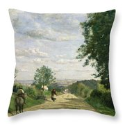 The Road To Sevres Throw Pillow